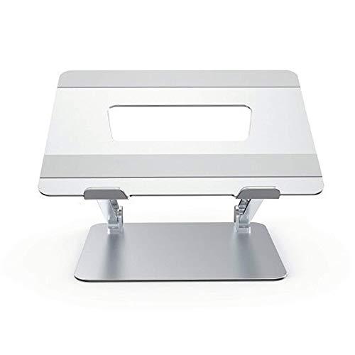 QFWM Soporte para Portátil AjustableSoporte Plegable para Portátil Soporte De Aleación De Aluminio Refrigeración Soporte De Escritorio Ajustable Base Soporte De Tableta para PCSoporte para Laptop