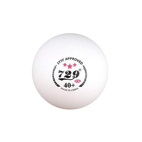 KMDSM Mesa de Ping Pong de 1 Estrella, Nuevos Materiales, Bola de Competencia masiva de los 13º Juegos Nacionales, Bola de Costura, Bola sin Costuras, 100 / Caja (Edition : B)