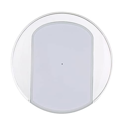 WiFi-IR Remote IR Control Hub Wi-Fi (2.4Ghz) Controlador Remoto Universal por Infrarrojos habilitado para Aire Acondicionado TV DVD Usando la aplicación Tuya Smart Life Compatible con Alexa Google