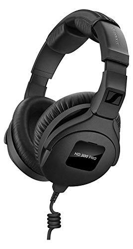 Sennheiser HD 300 PRO Kopfhörer (professionelle Studio-Kopfhörer im Over-Ear-Design & präziser, linearer Klangwiedergabe, ideal für DJs & Drummer) Schwarz
