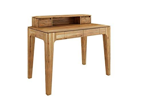 casamia Schreibtisch Casablanca mit Aufsatz Akazie Natur matt, One Size