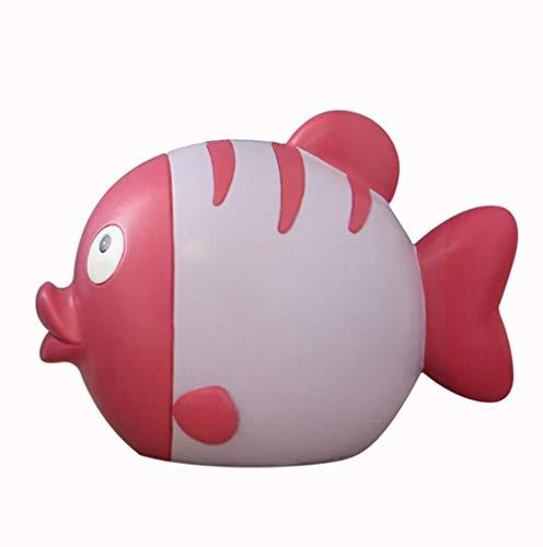 LOOKUR Beso Pescado Hucha Almacenamiento De Almacenamiento De Los Niños Tanque Hucha De Dibujos Animados Lindo Regalo Creativo