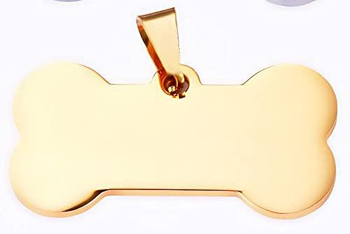 WANM Colgante Charms Hueso De Acero Inoxidable De 5 Piezas para Accesorios De Cuello Neutro Pulido con Espejo