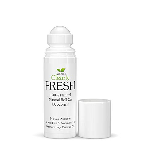 Clearly FRESH Natural Magnesium Roll On Deodorant I 24 hour Protection I...