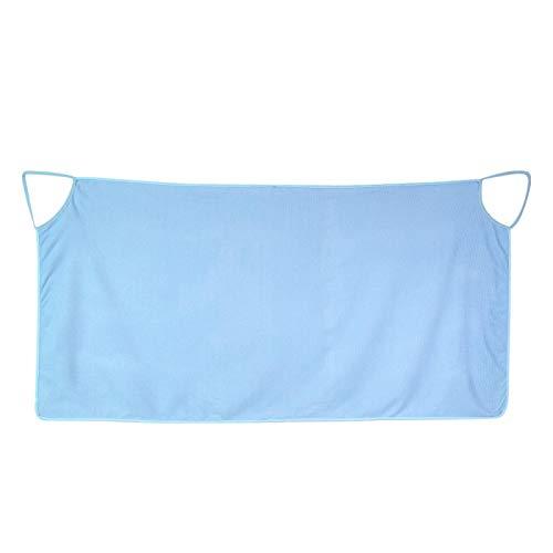Roberee Toalla de baño - Correas de Hombro Vestible para Mujer Falda Vestido Toalla de baño Abrigo SPA Playa(Azul)