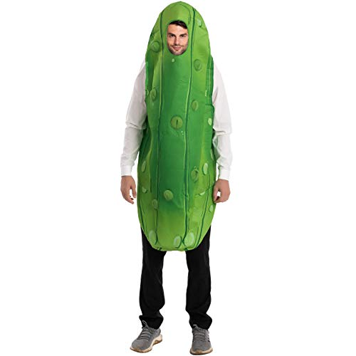 Spooktacular Creations Adult Unisex Pickle Costume Standard Green