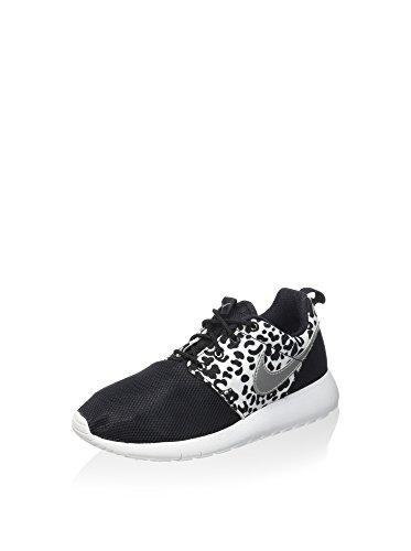Nike Unisex-Kinder Jr Roshe One Print Gs Lauflernschuhe, schwarz/weiß, 37.5 EU