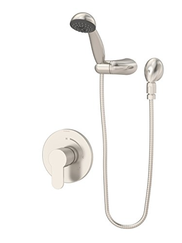 Symmons 6703-1.5-TRM-STN Identity Single Handle 1-Spray Hand Shower Trim in Satin Nickel - 1.5 GPM (Valve Not Included)