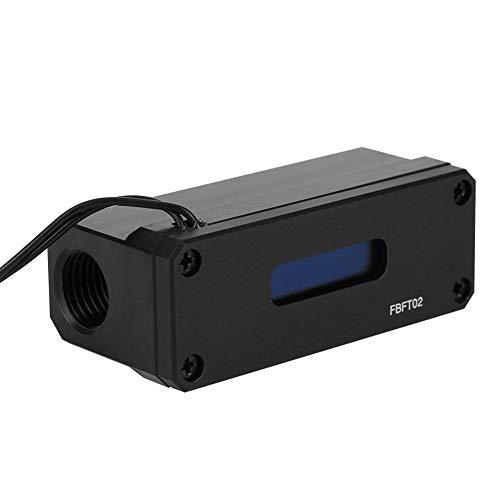 Bewinner Termómetro de refrigeración por Agua para computadora OLED con Rosca G1...