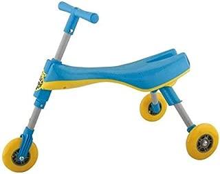 SCUTTLE BUG TYPE TRIKE KIDS/ TODDLER  MINI SCOOT ALONG FOLDING TRIKE TOY (BLUE)