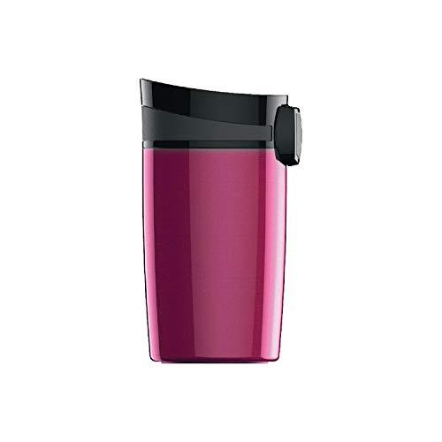 SIGG Miracle Berry Tazza termica (0.27 L), Tazza portatile isolante e priva di sostanze nocive, Tazza acciaio ermetica e facilmente trasportabile