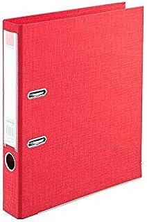 ملف كلاسور بلاستك وجهين فلسكاب لون أحمر، من كومكس A308