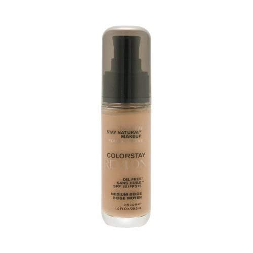 Revlon Colorstay Stay Natural Makeup Oil Free SPF 15 Medium Beige