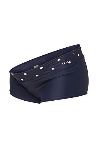 ESPRIT Maternity Damen Shorts AOP Umstandsbadeshorts, Blau (Night Blue 486), 38 (Herstellergröße: M/L)