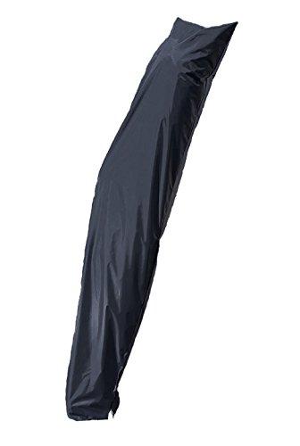 Housse de protection deluxe pour parasol à mât excentré de 200 à 400 cmMatière : polyester Oxford 420 - Imperméable - Résistant - Protection UV. anthracite
