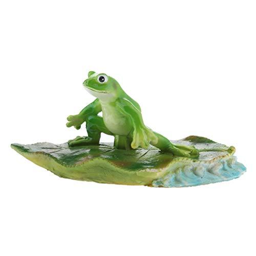 Homyl Frosch Teichdekoration Schwimmform Schwimmfigur Teichdeko, 3 Form zum auswählen - B# Recht Frosch