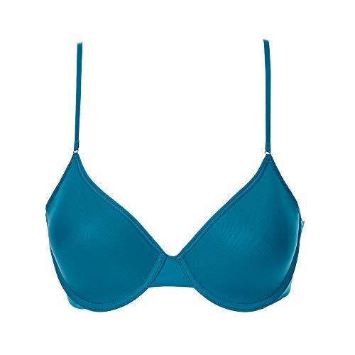 OnGossamer Women's Next to Nothing Micro T-Shirt Bra, Emerald, 32C
