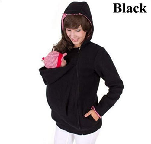 SMACO vrouwen moederschap fleece hoodie kangoeroe trui multifunctionele afneembare baby slaapzak hoodie kangoeroe trui
