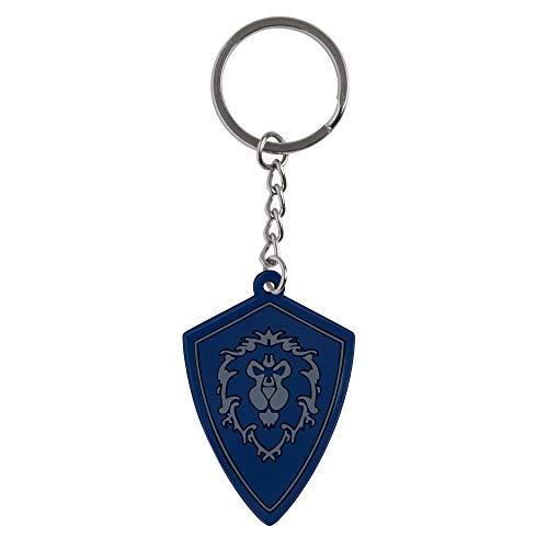 J!nx World of Warcraft Rubber Keychain Battle for Azeroth Alliance 4 cm