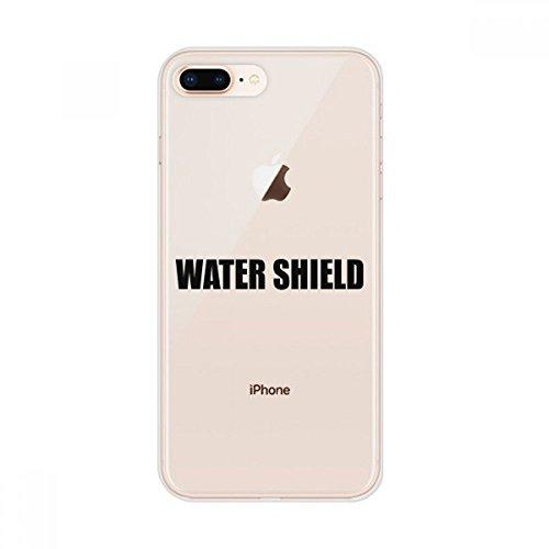 DIYthinker Water Shield Plantaardig voedsel Apple iPhone Case Flexibele Zachte Slank Transparant Cover