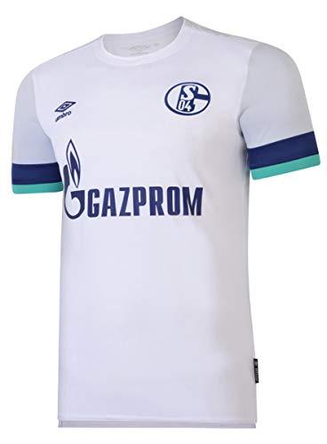 UMBRO FC Schalke 04 Trikot Away 2019/2020 Herren weiß/blau, M