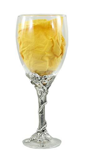 Cavagnini Zinnglas für Wasser, Weinglas, Master, Italien (Rotweinglas)