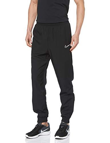 Nike Herren M NK DRY ACDMY WPZ Hose, Black/White, M