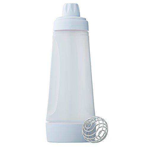 Whiskware Teig Mixer für Pfannkuchen, Pancakes, Waffeln, Crêpes uvm mit BlenderBall Schneebesen, BPA frei, Fassungsvermögen 1065 ml