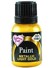 Rainbow Dust Metallic Paint Light Gold by Rainbow Dust