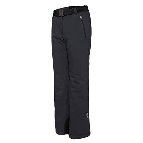 COLMAR W Mech Stretch Target Pant Grau, Damen Hose, Größe 44 - Farbe Eclipse