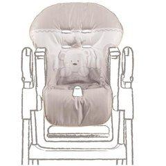 ITALBABY Baby RE bestickt PVC-Abdeckung, Taube grau