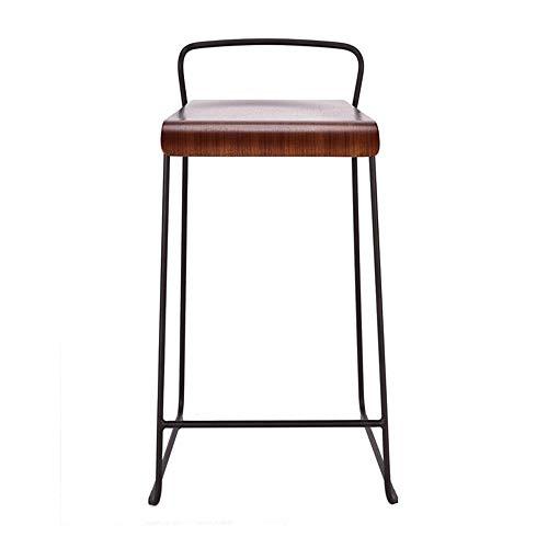 Schoolstoel QUANFANG Moderne minimalistische kruk van metaal met moderne minimalistische smeedijzeren barkruk