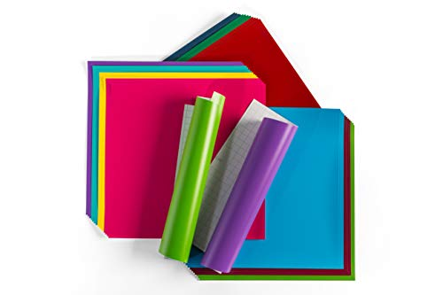 Best Vinyl For Cricut - Cricut Premium Vinyl Adhesive Sheets