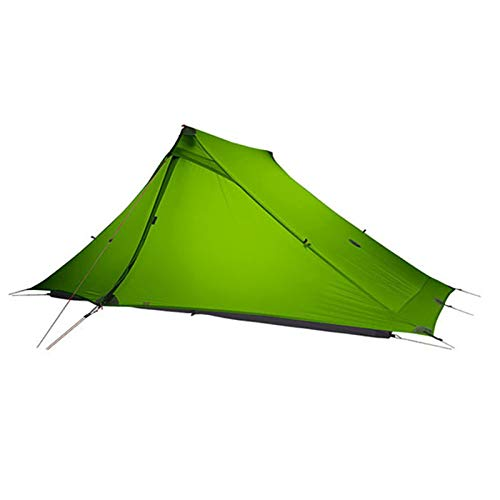Camping Tent 2 Person Portable Outdoor Ultralight Waterproof Hiking Waterproof Large Family Tents for Mountaineering,Green