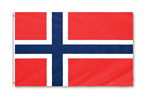 Star Cluster 90 x 150 cm Flagge Norwegens/Norwegen Fahne/Flagget av Norge/Flag of Norway (NO 90 x 150 cm)