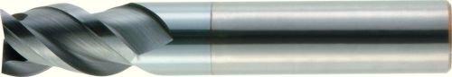 0.5 LOC RH Cut 0.06 Rad Carbide 5-Flute AlTiN 0.375 Cutting Diameter WIDIA Hanita 5V4E10004CT VariMill II ER 5V0E HP Finishing End Mill