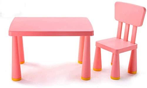 Tägliche Ausrüstung Kinder Schreibtisch und Stuhl Set Kunststoff Tisch Stuhl Sets Kinder Möbel Zubehör Kunststoff Schreibtisch Kinder Tisch und Stühle Set Kleinkind Aktivitätsstuhl Am besten für Kl