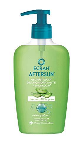 Ecran Aftersun - Gel Post-solar Dermohidratante Reparador con Aloe Vera Puro, Calma y Refresca - 200 ml