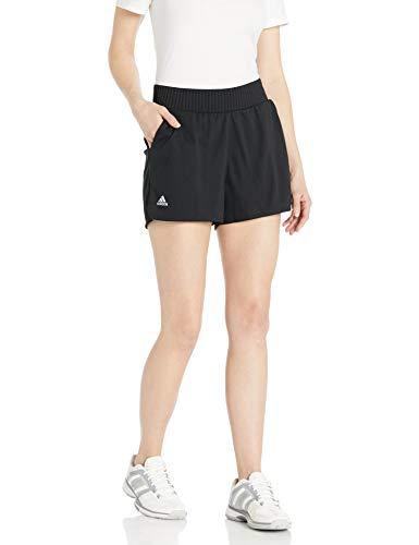 Adidas Club Hr - Pantaloncini corti, Donna, Pantaloncini, Club Hr Short, nero/argento opaco., Large