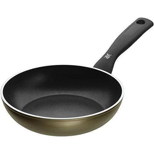 WMF 545204021 Permadur Element Sartén de Aluminio, Antiadherente, Apto para Todo Tipo de Cocinas Incluido Inducción, Exterior Resistente en Acero, 20 cm sin PFOA