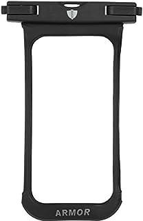 جراب ضد المياه مع قفل قوي من ارمور لهاتف موتورولا موتو جي 6 بلاي - اسود