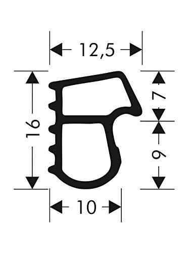 Türdichtung Stahlzargendichtung Z-505 Zargendichtung Tür Zimmertürdichtung