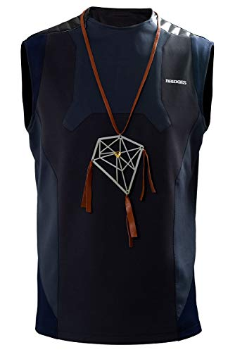 Sam Porter Bridges Stranding Nomad Restroom Vest Dream Catcher Necklace Traje de Cosplay Disfraz Hombres Caballeros S