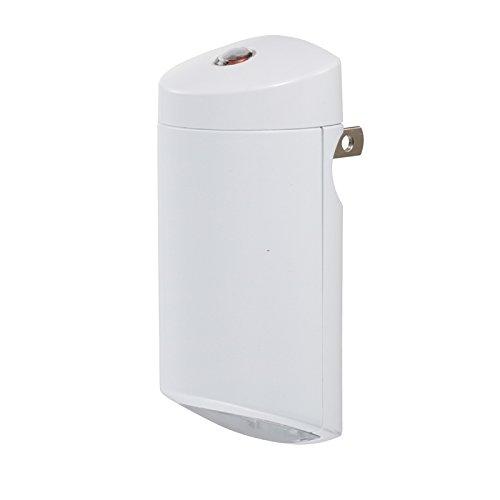 オーム電機 LEDナイトライト(明暗センサー付/白色) NIT-ALA6MC-N