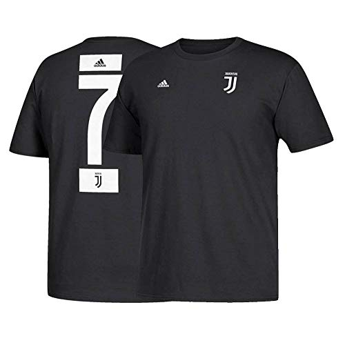 adidas Cristiano Ronaldo Juventus F.C. Men's Black...