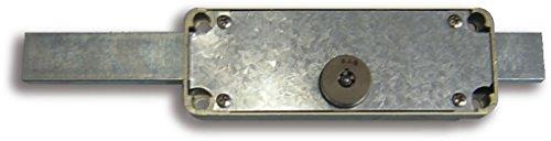 Sag Seguridad 11-As-Nc Cerradura persiana metalica, Acero, 0