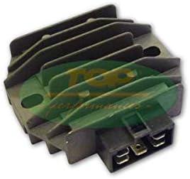 Regulador de tensión para scooter compatible con Piaggio X9 Amalfi 180 4T 2000 2003 Top Performance