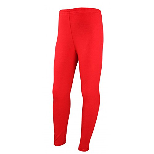 TupTam Mädchen Lange Leggins Blickdicht, Farbe: Rot, Größe: 140