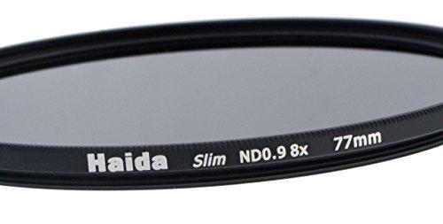 Slim Graufilter ND8 77mm. Extrem schlanke Fassung + Pro Lens Cap 77mm