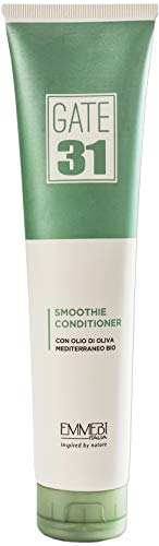 Gate 31 Oliva Bio Smoothie Après-shampoing 200 ml à l'huile d'olive pour cheveux normaux   Inspired by Nature   AS-CIGR-TUT